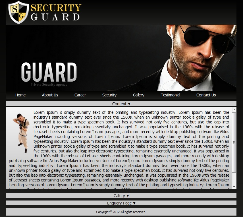 A Sample Private Security Company Business Plan Template