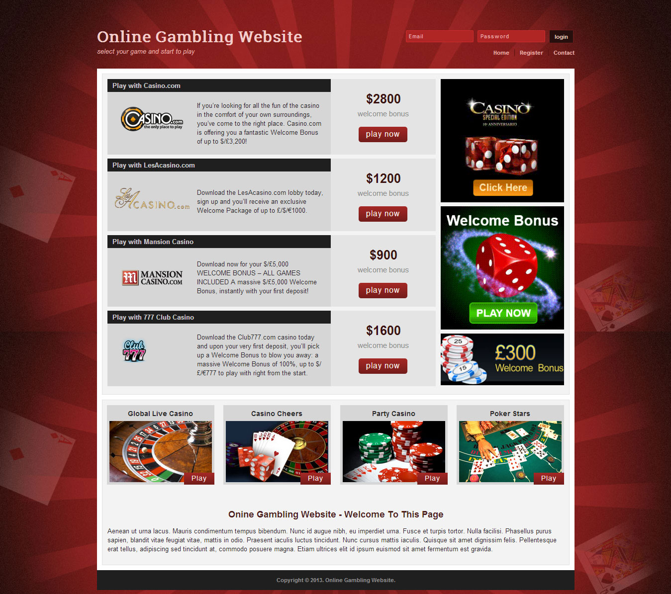 onlin betting guide gambling sites online